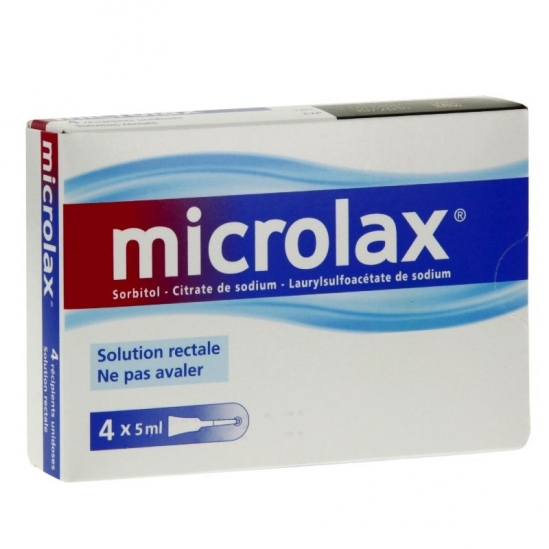 Microlax Solution Rectale 4x5ml