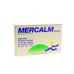 Mercalm 15 comprimés