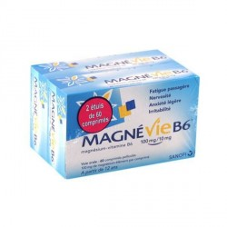 MAGNEVIE B6 100MG/10MG CP PELL PLQ/120X2