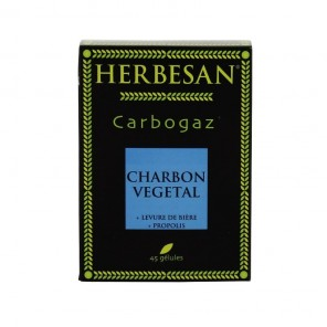 Cargogaz herbesan digestion 45 gélules
