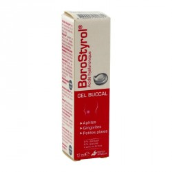Borostyrol Gel Buccal tube de 12 ml