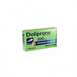 Doliprane 300mg 10 Suppositoires