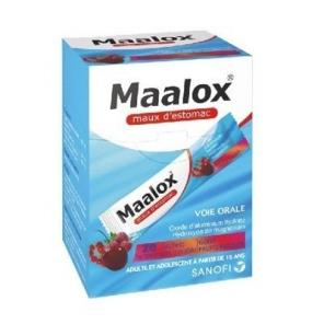 Maalox maux d'estomac fruits rouges suspension buvable 20 sachets