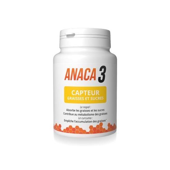Anaca 3 Capteur Graisses 60 Gélules