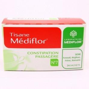 Mediflor tisane n°7 constipation passagère 1.8 g 24 sachets