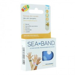 Sea Band Kids Paire de Bracelets Rose
