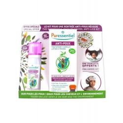 Puressentiel Anti-poux Kit Complet + Charlotte Offerte