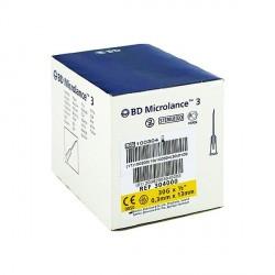 BD MICROLANCE 3, G30 1/2, 0,30 MM X 13 MM, JAUNE, AIGUILLE