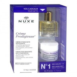 Nuxe Prodigieuse Crème 40ml + Huile et Crème nuit OFFERTES