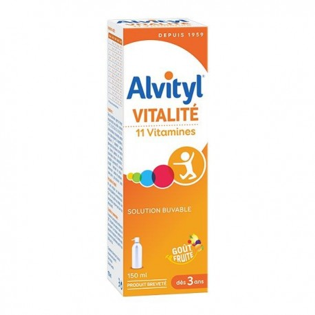 Alvityl Forme Equilibre Vitalité Solution Multivitaminée 150 ml