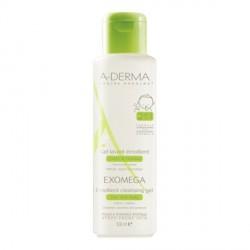 A-derma exomega gel lavant cheveux et corps pour enfant 500ml