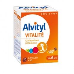 Urgo alvityl multivitamines 40 comprimés