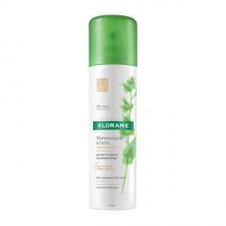 klorane shampooing sec séboregulateur à l'extrait d'ortie 150ml