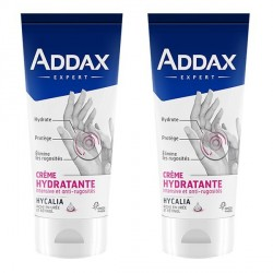 Addax crème mains hydratante 2x75ml
