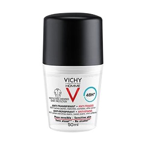 Vichy Homme deodorant 48H anti-traces 50ml