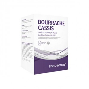 Ysonut Bourrache Cassis complément alimentaire 100 capsules
