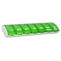 ANABOX Pilulier box 7 vert