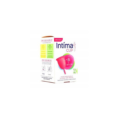 INTIMA CUP Coupelle silic flux abond