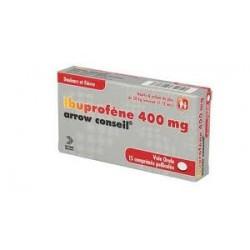 Ibuprofene ARROW conseil 400mg 15 comprimés pelliculés