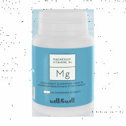 WELL&WELL Magnésium Mg Cpr séc Pilul/90