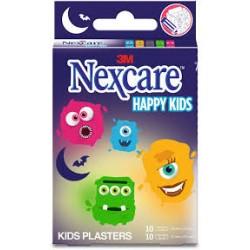 NEXCARE PANS HAPPY KIDS MONSTRE 20