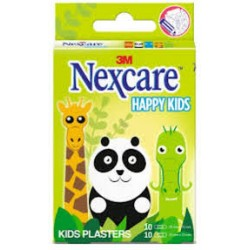 NEXCARE PANS HAPPY KIDS ANIMAUX 20