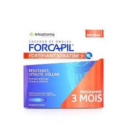 FORCAPIL FORTIFIANT+KERAT GELUL180