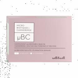 WELL&WELL Microbio+Canneb µBC Gél+cpr B/28