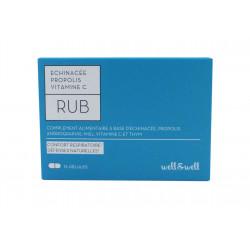 W&W RUB CONFORT RESPI 15 GELULES