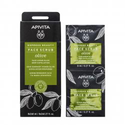 APIVITA GOMMAGE EXPRESS OLIVE X2