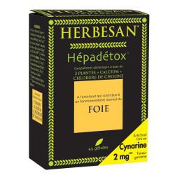 HERBESAN HEPADETOX Gél B/45