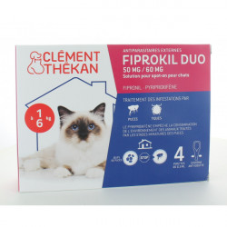 FIPROKIL DUO Spot-on chat -4kg 4Pip/0,5ml