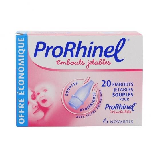 Novartis ProRhinel Embouts jetables souples pour mouche-bébé x 20